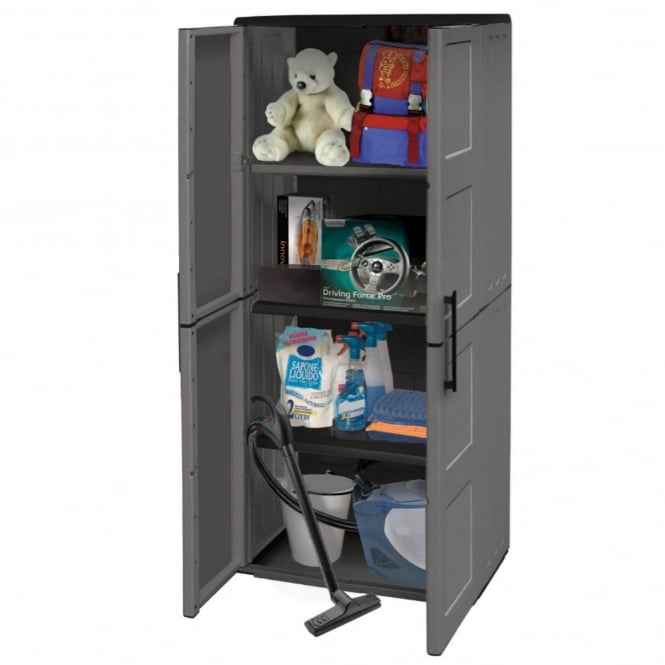 Shire Tall Plastic Storage Unit
