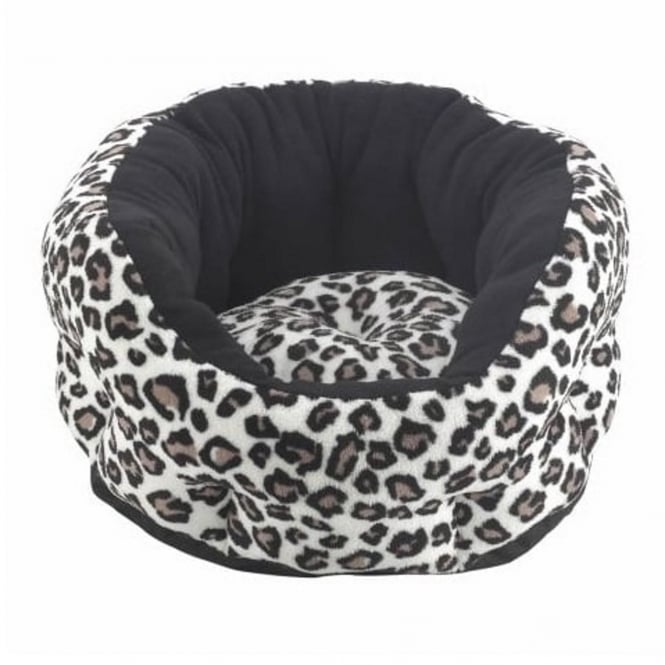 Snug & Cosy Verona Oval Animal Print Pet Bed