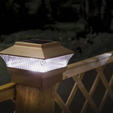 Solar Post Lights - Pack of Two