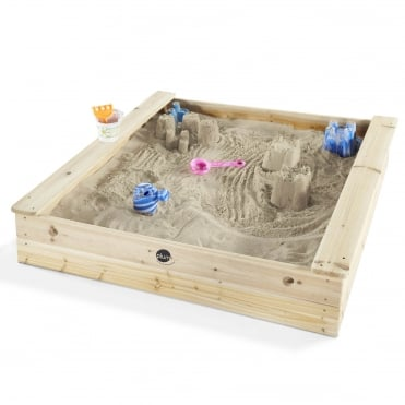 Square Wooden Sand Pit