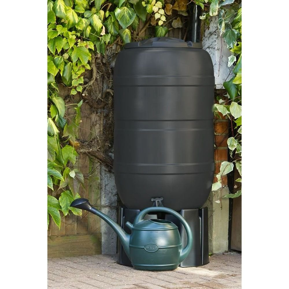 210L Standard Barrel WATER BUTT BARREL Includes CHILD SAFE LID And TAP