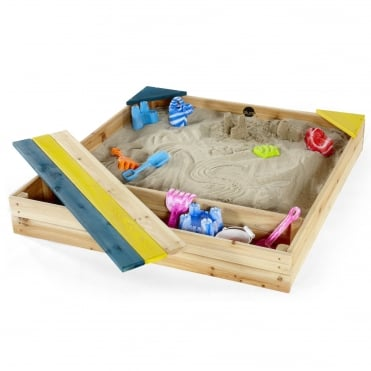 Store-It Wooden Sand Pit