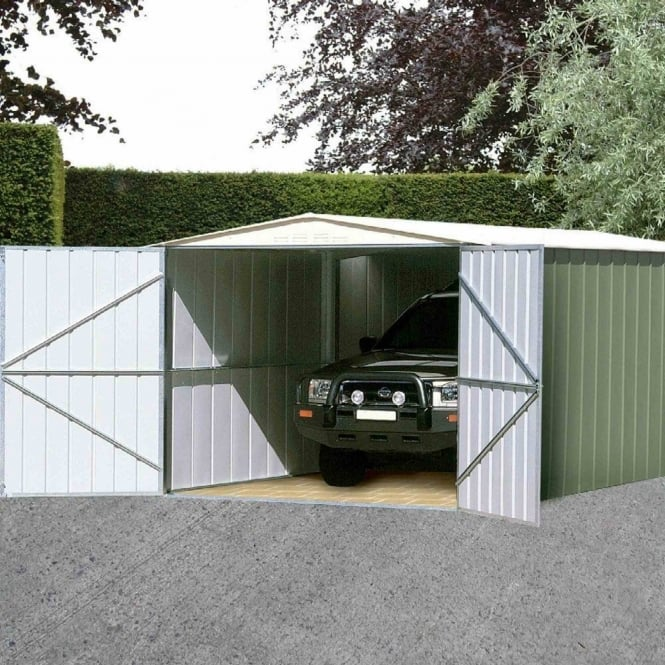 Storemore Canberra Metal Garage 10X19