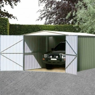 Canberra Metal Garage 10X19