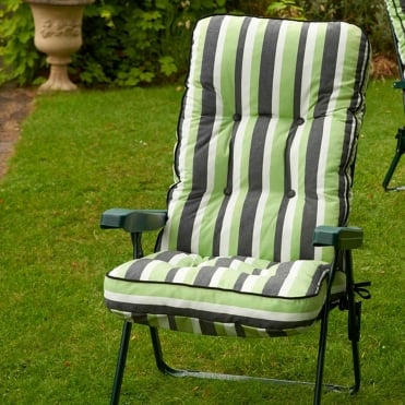 Stripe Deluxe Recliner