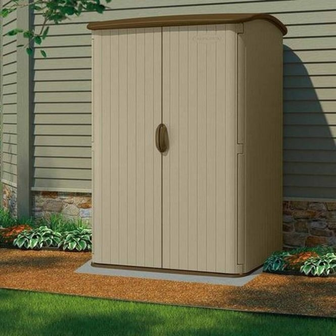 Suncast Conniston Vertical Shed 5X4