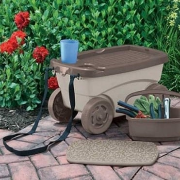 Garden Trolley Stool
