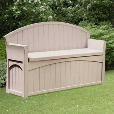 Patio Storage Bench 189L