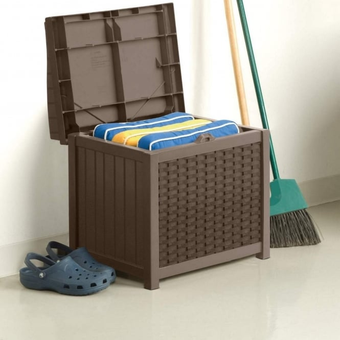 Suncast Patio Storage Seat 83L