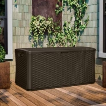 Resin Wicker Deck Box 507L