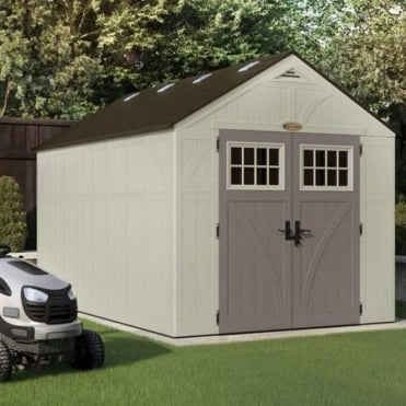 Tremont Plastic Apex Shed 8X13