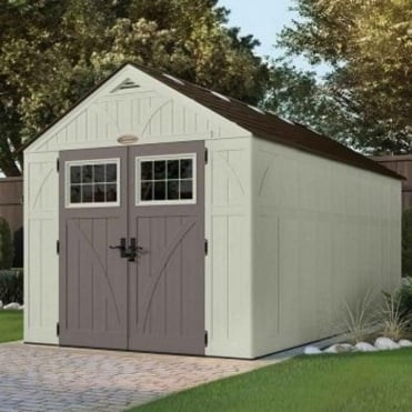 Tremont Plastic Apex Shed 8X16