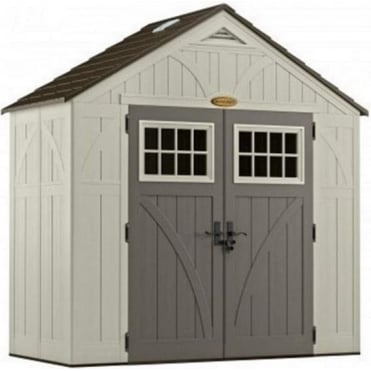 Tremont Plastic Apex Shed 8X4