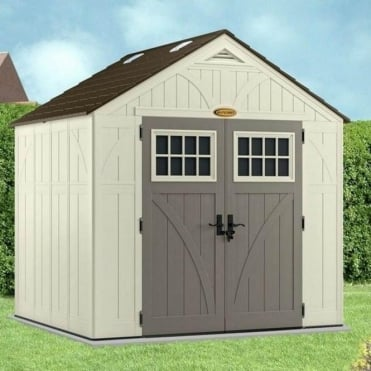Tremont Plastic Apex Shed 8X7