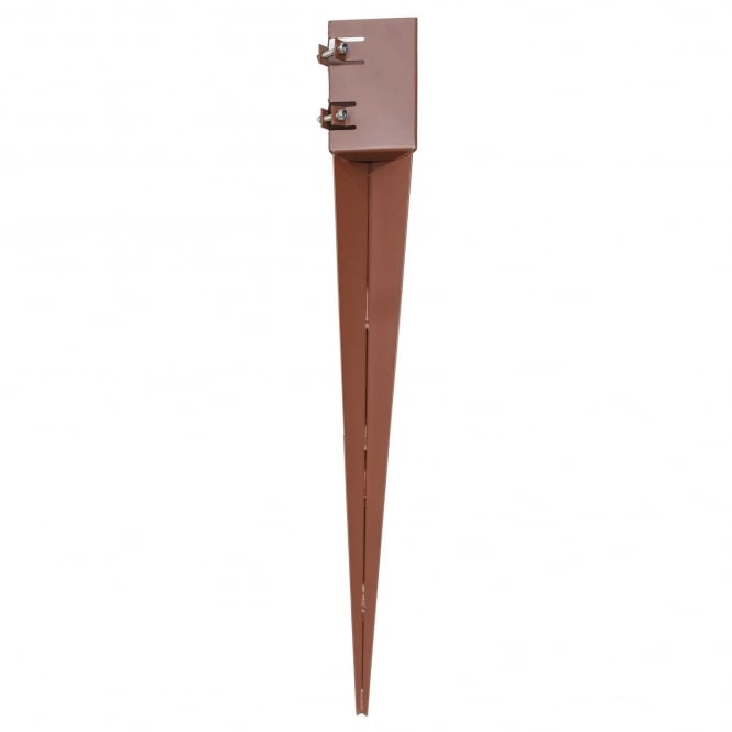 Metpost System 2 Spike Post Support For 100mm Sq. Posts