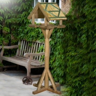 Rustington Thatched Bird Table