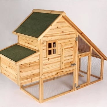 The Chateau Solid Cedar Chicken Coop