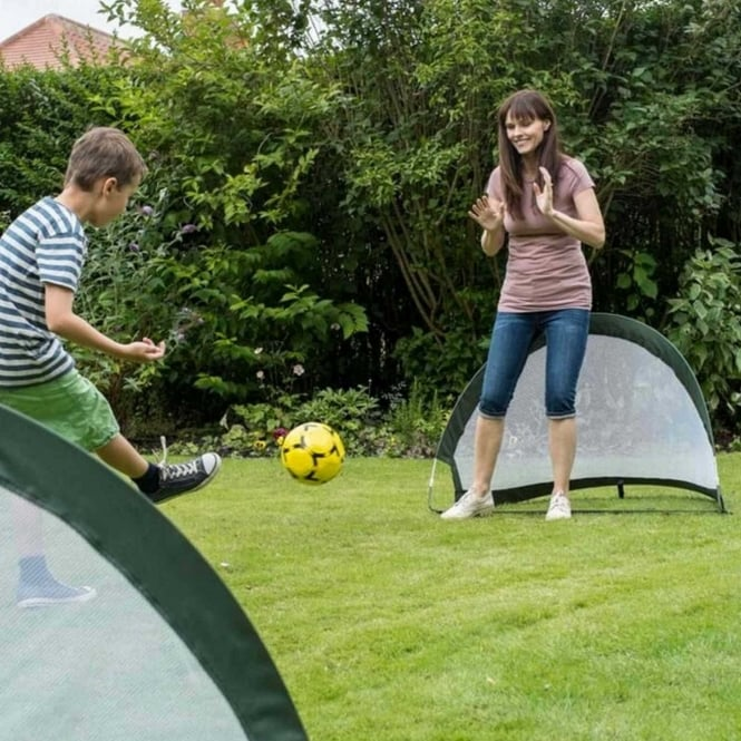 Traditional Garden Games 2 In 1 Pop-Up Goal
