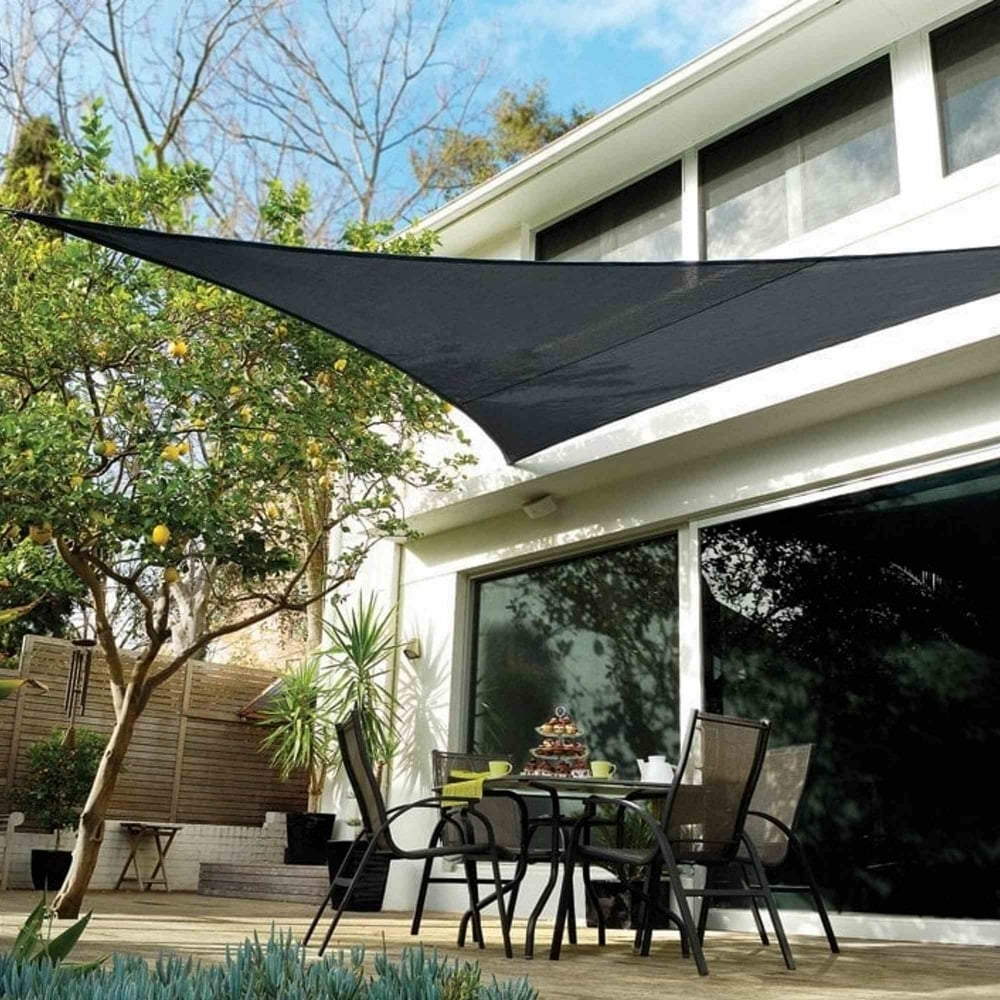 Coolaroo Triangular Shade Sail 5 0m Garden Street