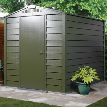 Titan 660 Metal Shed 6X6