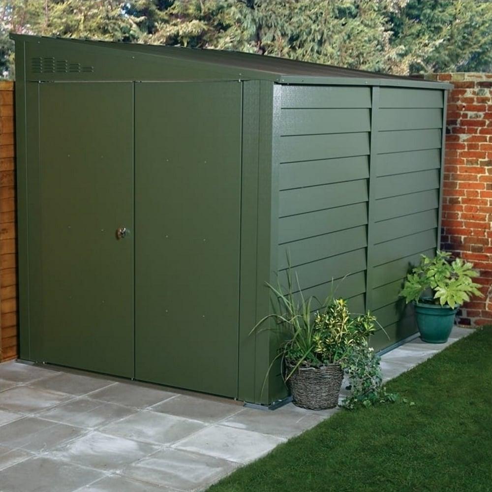 titan pent 950 metal shed 5x9