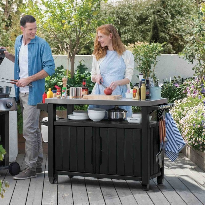 Norfolk Leisure Unity Double BBQ Table