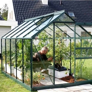 Venus Green Framed Greenhouse 6X10