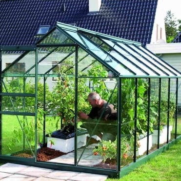 Venus Green Framed Greenhouse 6X12