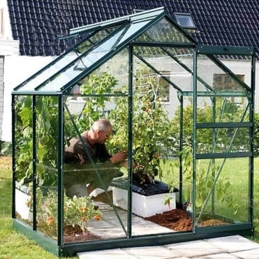 Venus Green Framed Greenhouse 6X4