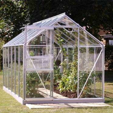 Venus Silver Framed Greenhouse 6X12