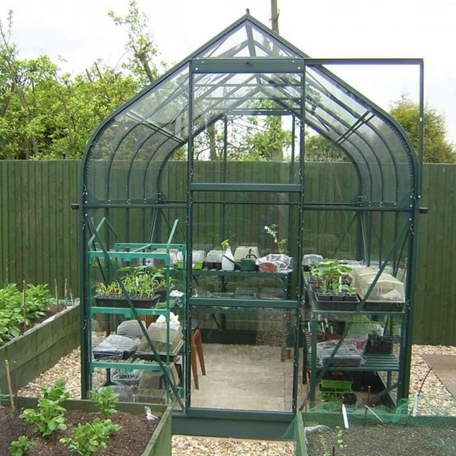 Vitavia Orion Green Framed Greenhouse 6X8