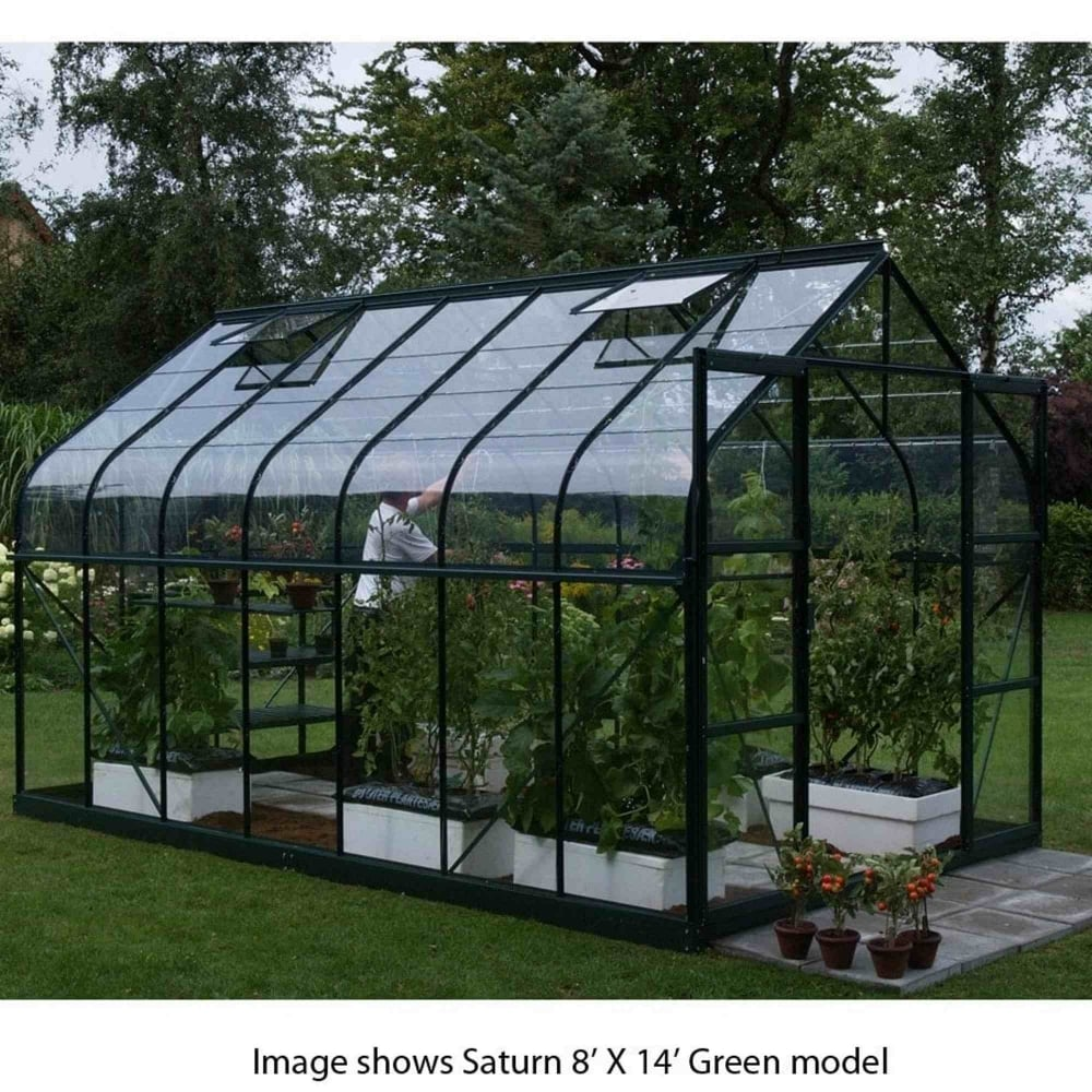 Vitavia Saturn Green Framed Greenhouse 8x10