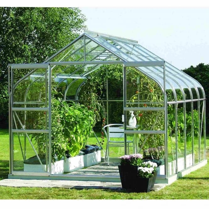 Vitavia Saturn Silver Framed Greenhouse 8X10