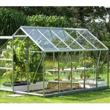 Venus Silver Framed Greenhouse 6X10