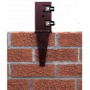 Wall Anchor Post Support For 75mm Sq. Posts