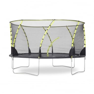 Whirlwind Trampoline & Enclosure 14ft