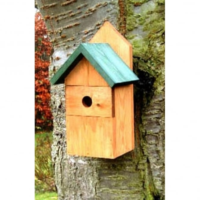 THC Wild Bird Wooden Nest Box